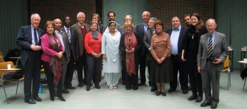 RfP Europe Governing Board 2012. meeting in Brussels, BE.